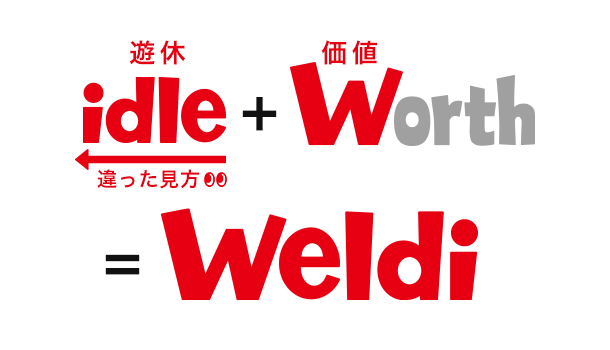 idle+worth=weldi